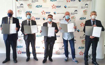 AG2R LA MONDIALE, ALOGIA GROUPE, APAVE, ASH et EDF signent une charte